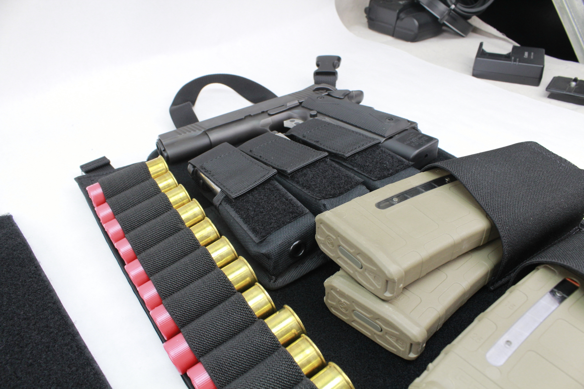 Large Tactical DASH bag panel view