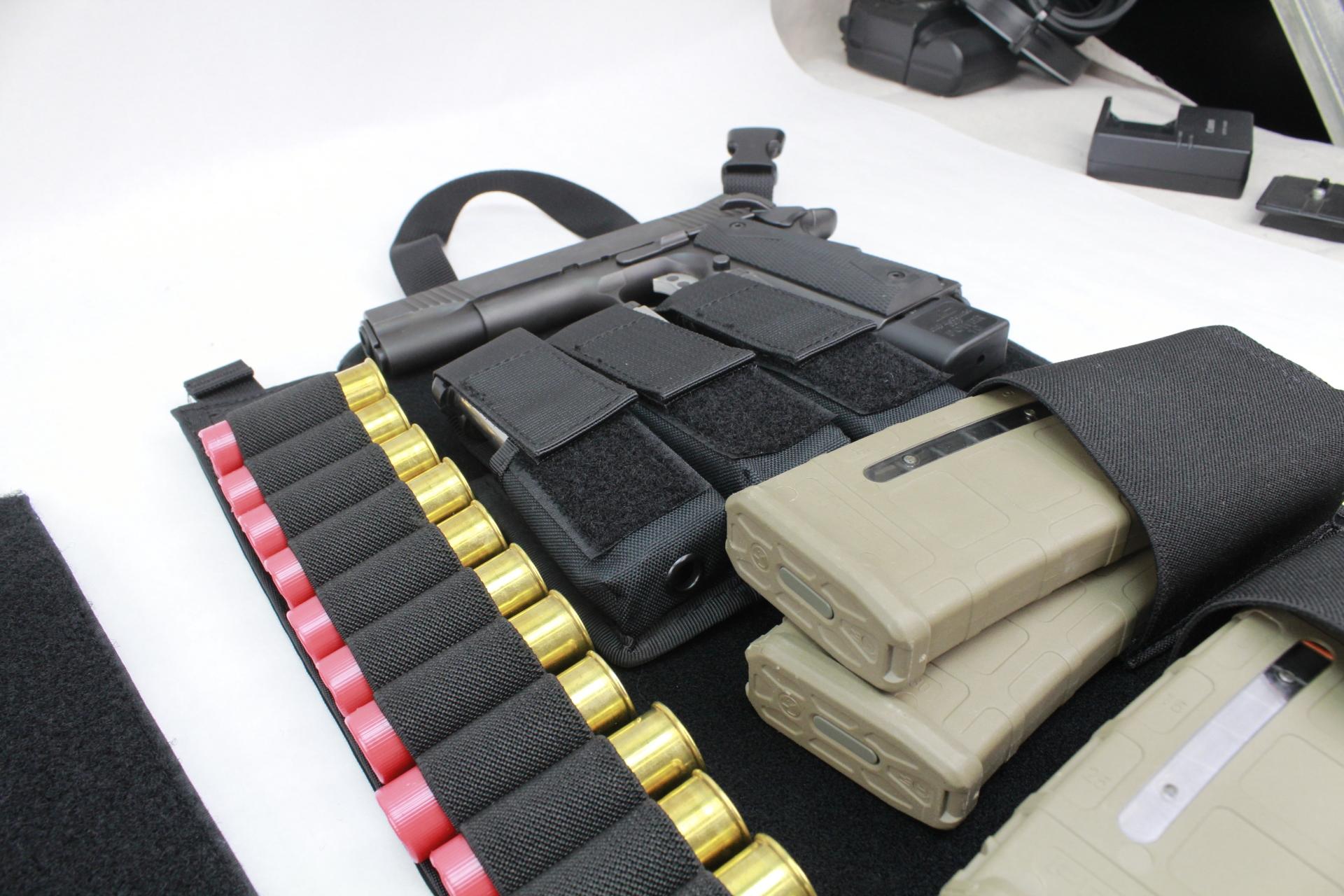 Large Tactical DASH bag panel view