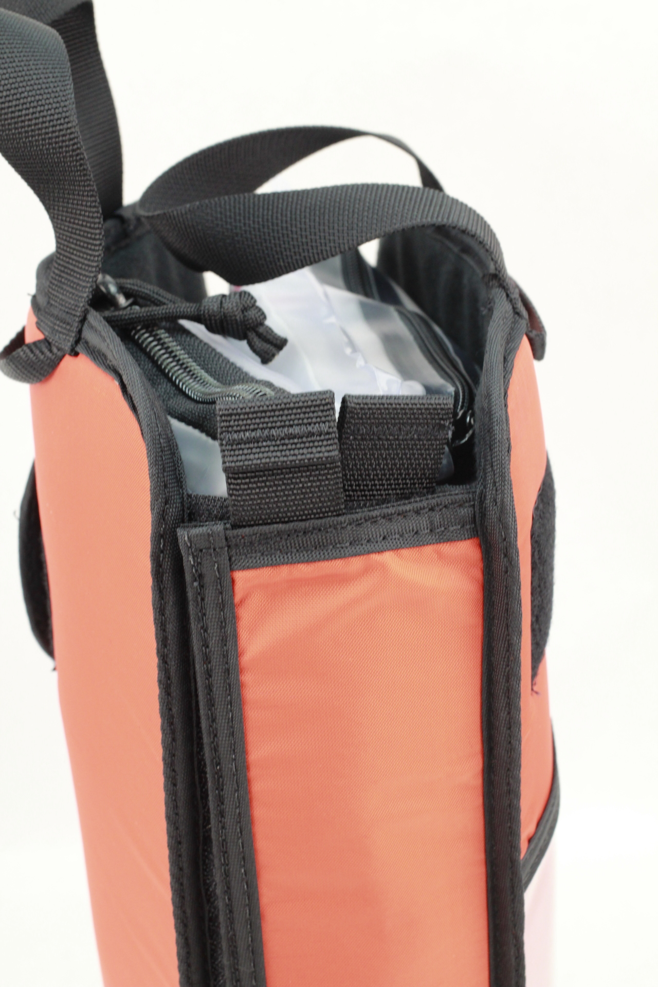 Large Civilian DASH bag binding edge view