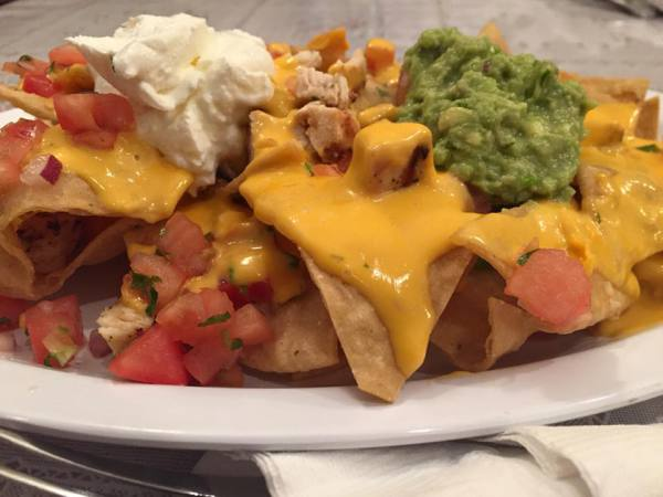Chicken Nachos Express