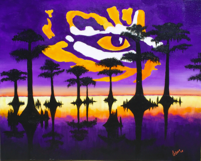 Bengal Eye On The Bayou
