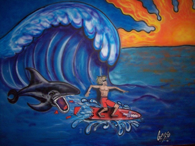 Surf's Up Mural