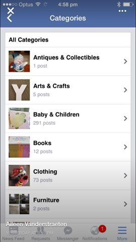 Facebook Categories are coming to Buy/Sell/Trade groups!