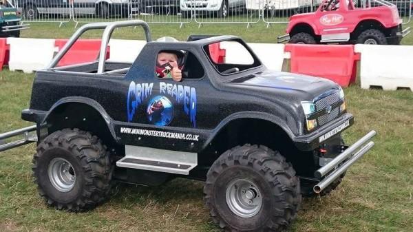 Mini Monster Truck Mania