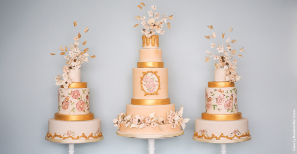 8 Wedding Cake trends for this Spring!