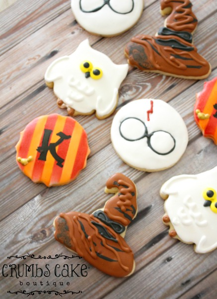Harry Potter Themed Cookies