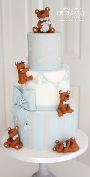 baby shower, tucson, tucson bakery, cakes, vintage, arizona baker, custom cakes