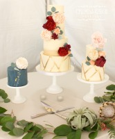 dessert table, tucson bakery, wedding cake designer