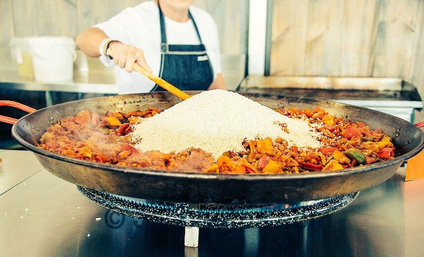 paella corporate event