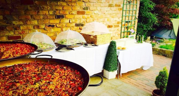 paella wedding lincolnshire