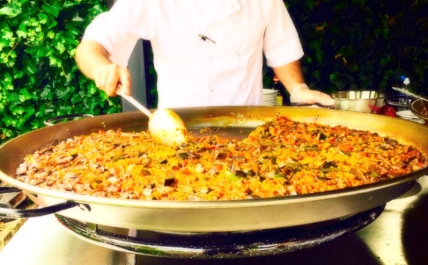 paella corporate event