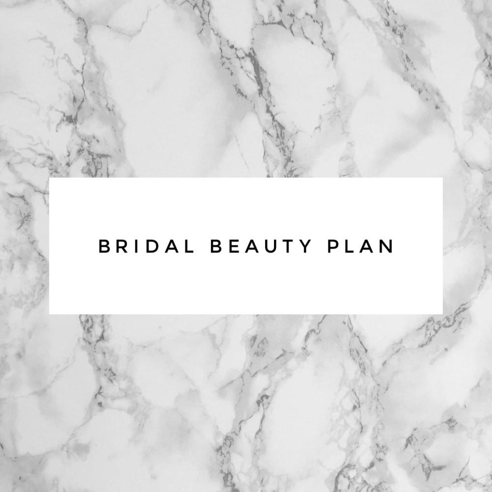 Bridal Beauty Plan