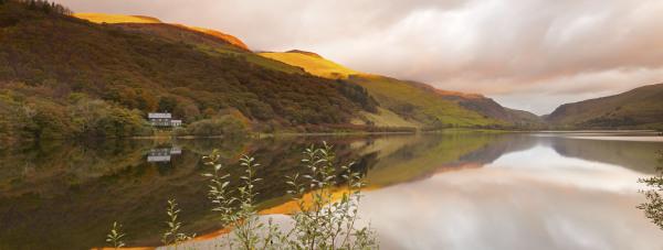 Tal Y Llyn dawn, Snowdonia, UK P101