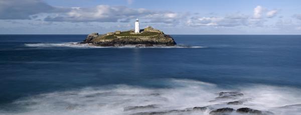 Godrevy Lighthouse, Cornwall, UK P104
