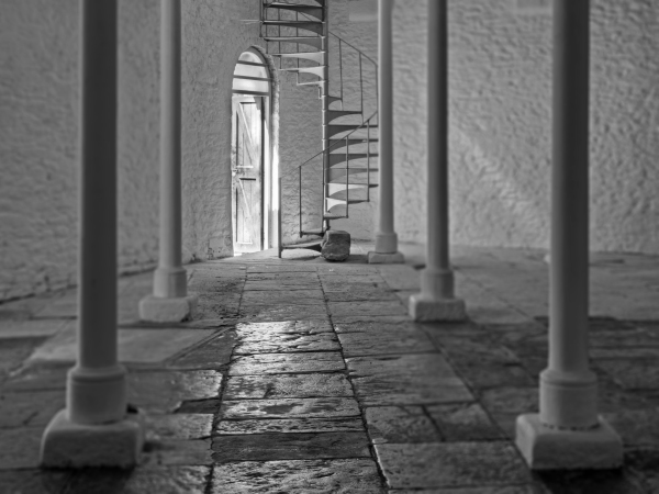 Southside Street interior, Barbican, Plymouth UK A102