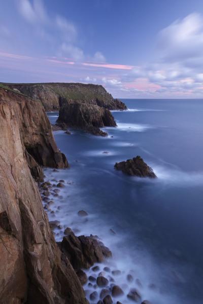 Lands End seascape, Cornwall, UK C102
