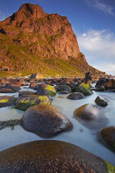 Utakliev beach, Lofoten Islands, Norway T117