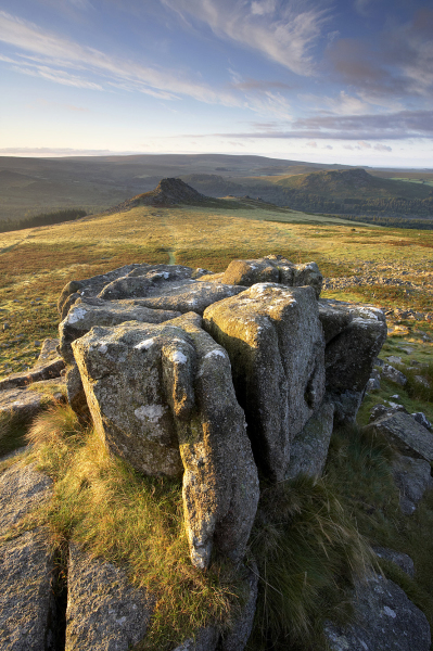 Leather Tor view, Dartmoor, UK L109