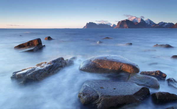 Myrland coast, Lofoten Islands, Norway T118