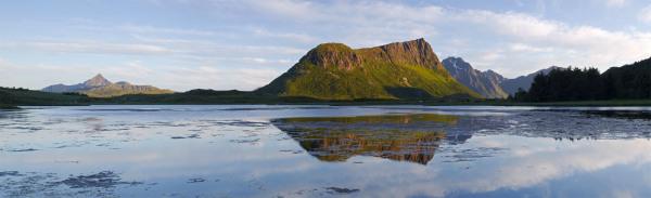 Utakliev pano, Lofoten Islands, Norway P107