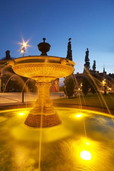 Town centre fountain, Barnstaple, Devon A110