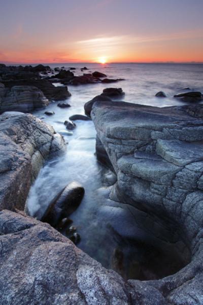 Midnight sun, Lofoten Islands, Norway T128