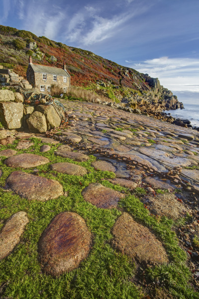 Penberth Cove, Cornwall, UK N116