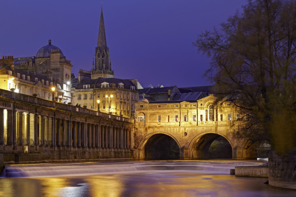 Pulteney bridge, Bath, UK N118