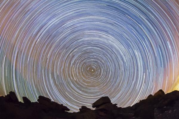 Dartmoor Star trail. N109
