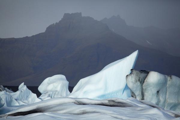 Jokulsarlon bergs, Iceland. N103