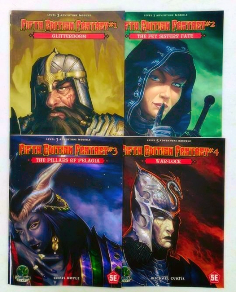 Fifth Edition Fantasy Modules