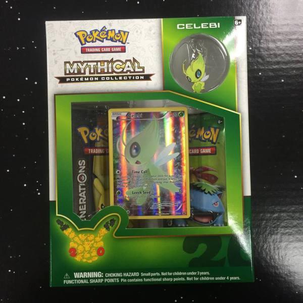Celebi Pokemon Mythical Collection