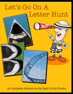 LET'S GO ON A LETTER HUNT by Sue Tenerowicz and Lynn Champagne