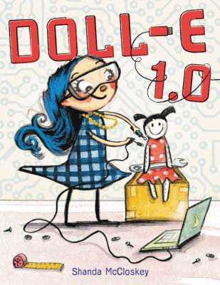 DOLL-E 1.0  By  Shanda McCloskey