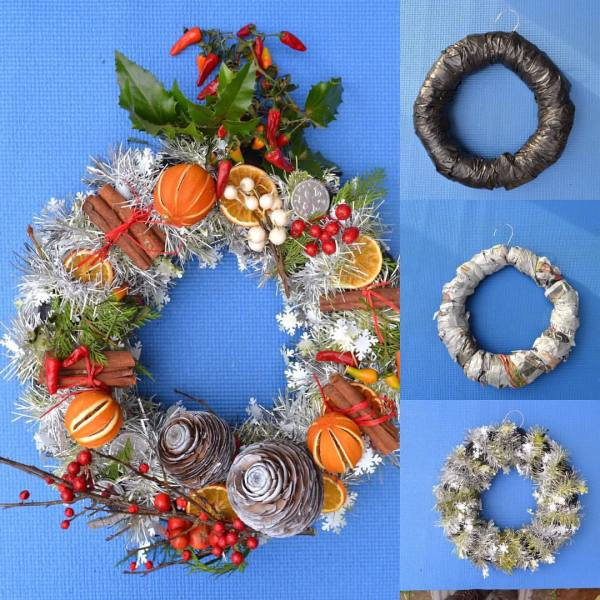 Christmas Wreaths Workshop at Pop Brixton with Plant Art £25