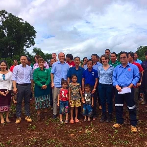 Ban Nahoy Water Project Handover Ceremony - Ironbark Lao