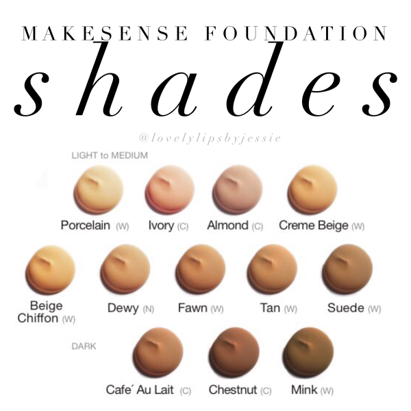 MakeSense Anti-Aging Foundations