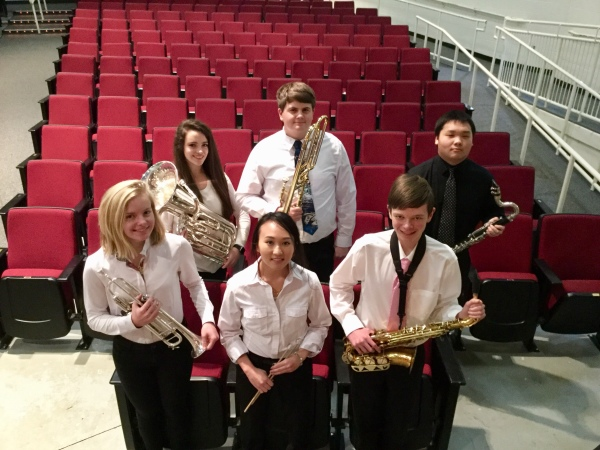 All-County Band Students
