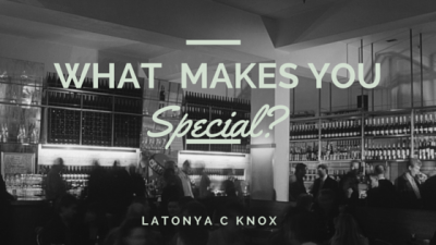 What Makes You Special? - Your Personal Brand (Part 1)