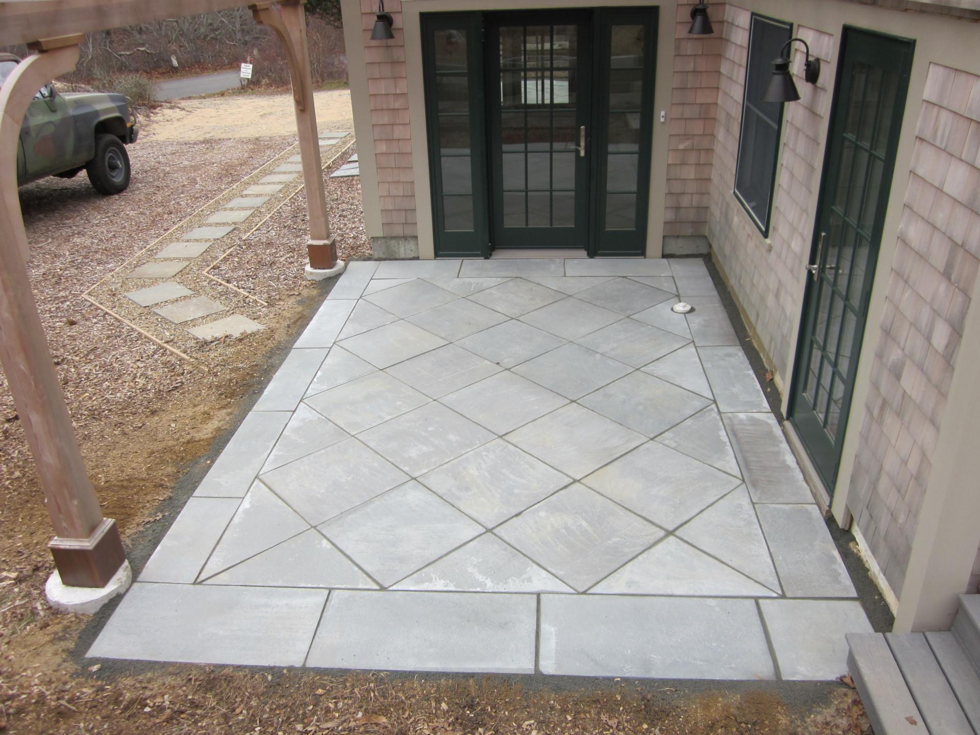 patio walkway