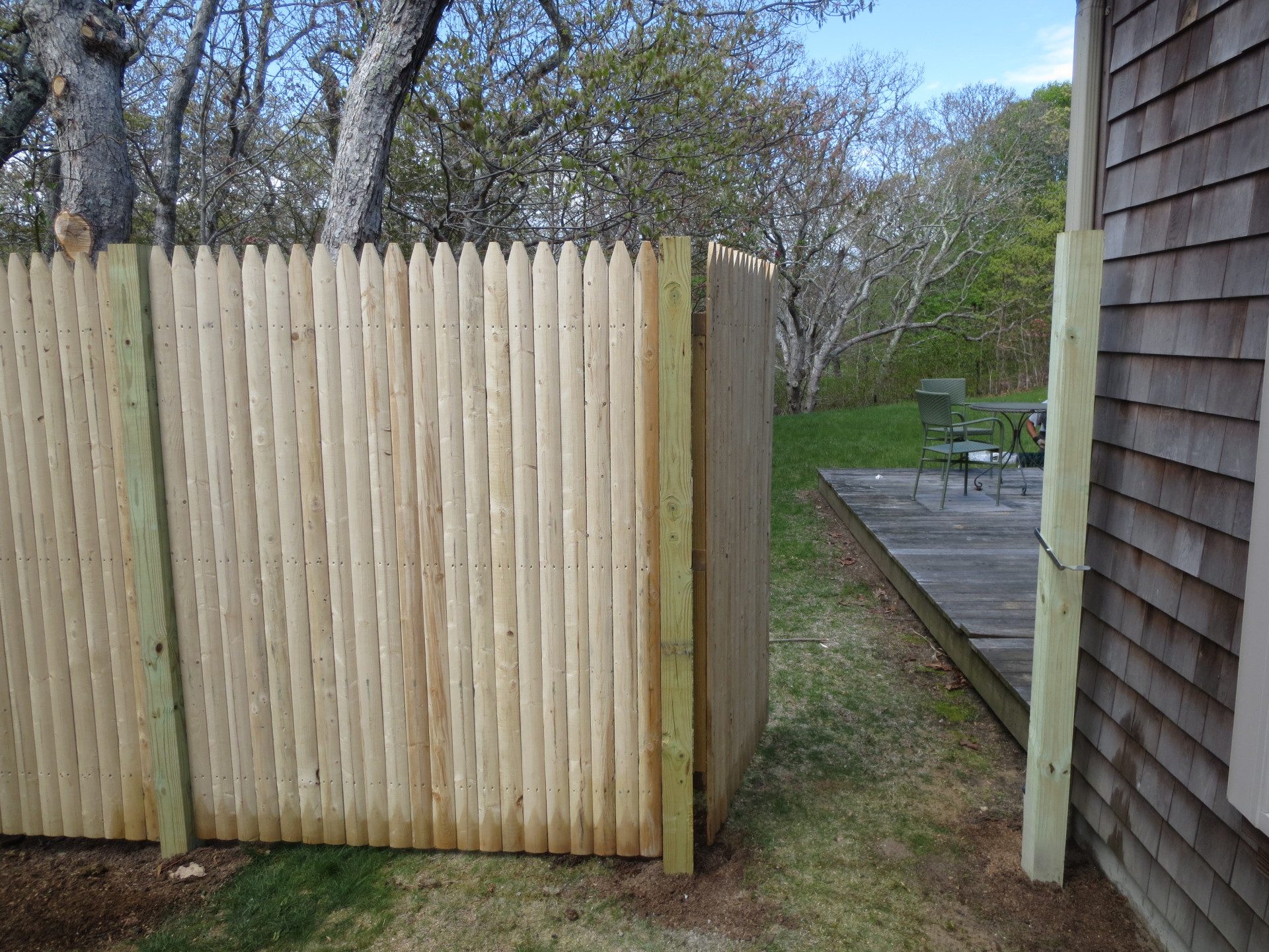 fencing stockade