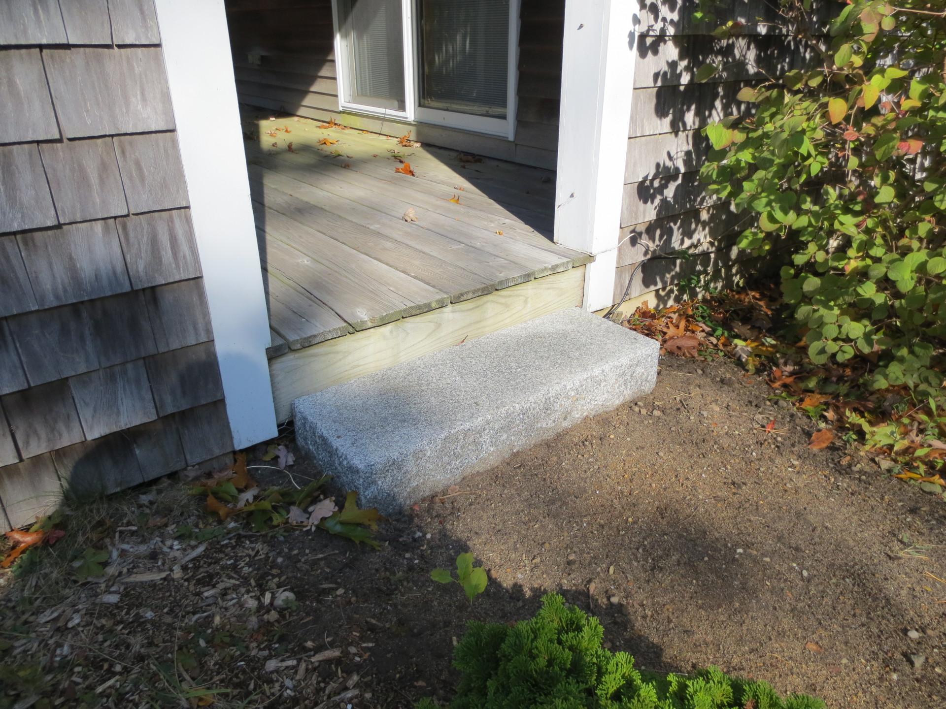 granite step