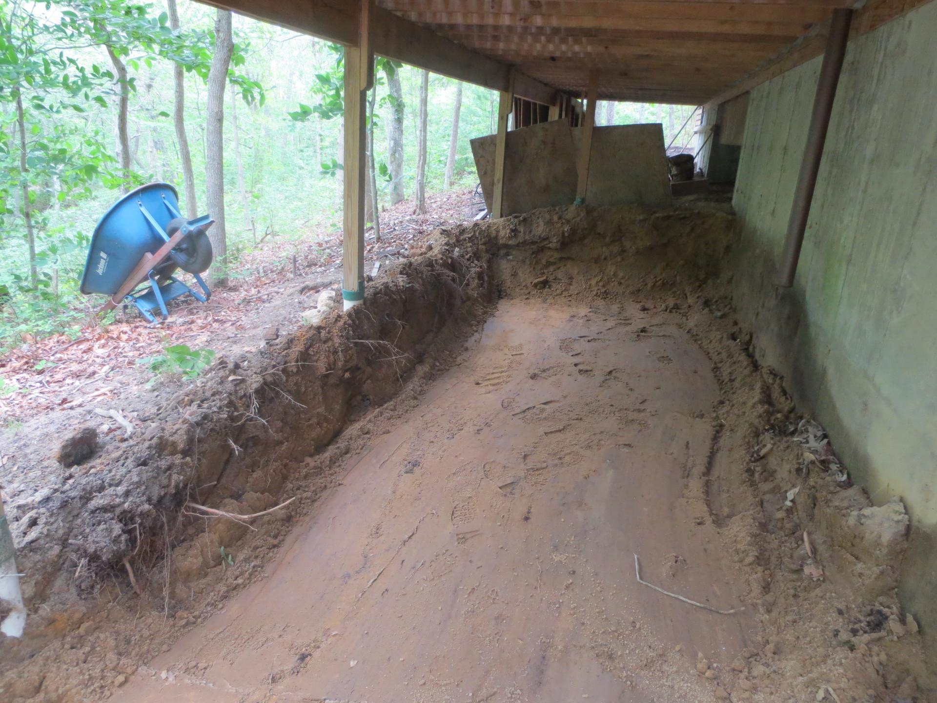 drainage grading