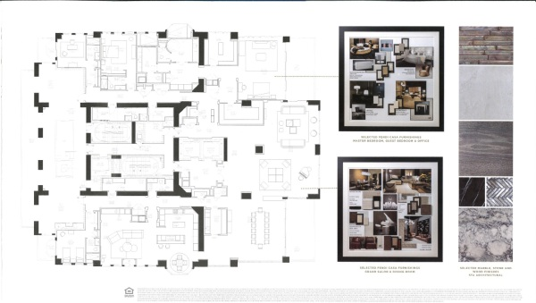 Mansions At Acqualina Palazzo di Spiaggia floor plan