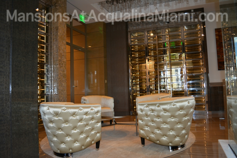 Mansions At Acqualina Private Wine Lounge [Photo]