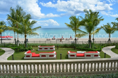 Mansions At Acqualina View Of The Ocean From Pool