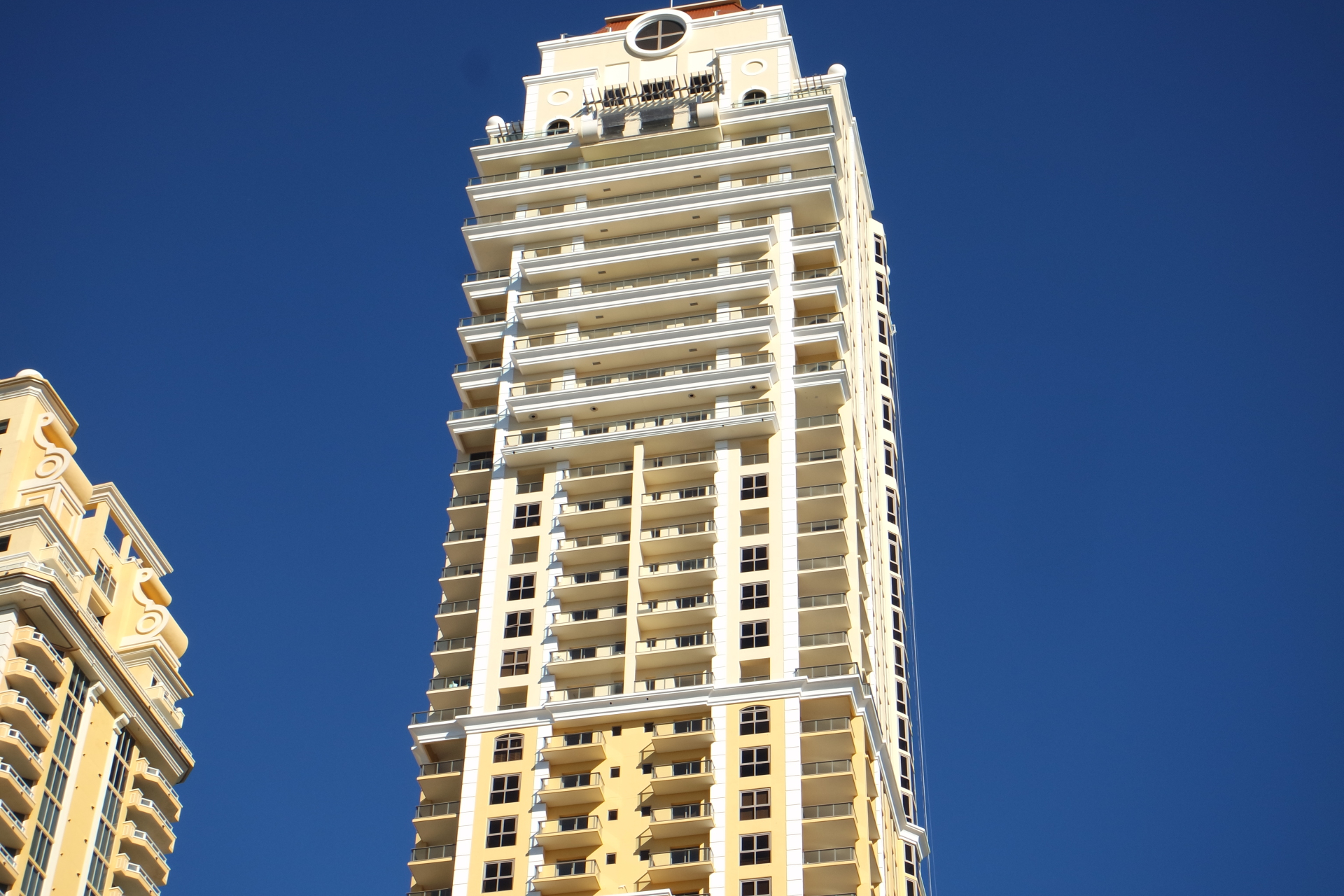 Mansions At Acqualina Miami condo tower in Sunny Isles Beach