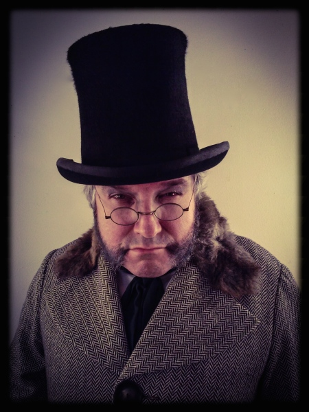 as Ebenezer Scrooge in A CHRISTMAS CAROL: A GHOST STORY OF CHRISTMAS