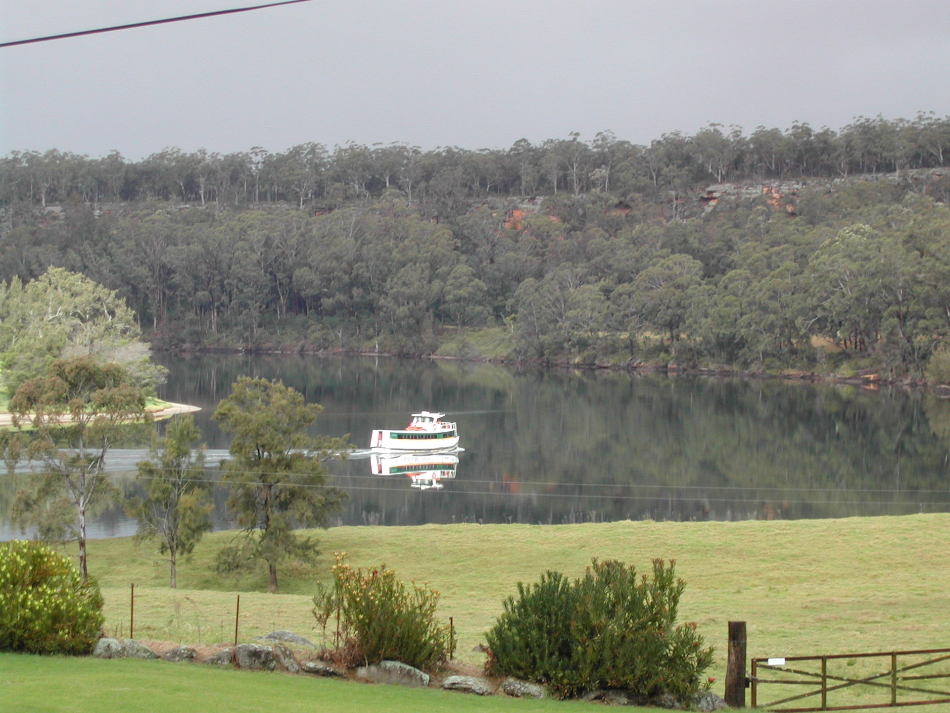 Boat on Shoalhaven River