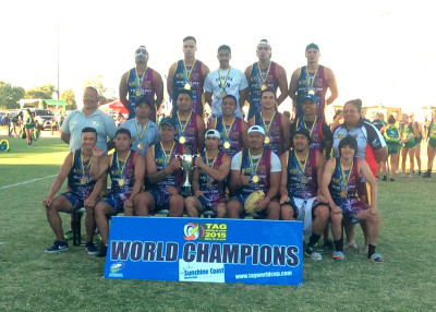 Our World Champions - Porirua NZ Babarians U21s